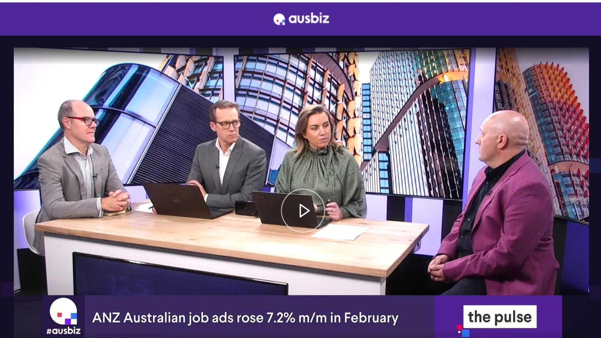 Dexter Cousins on Ausbiz TV