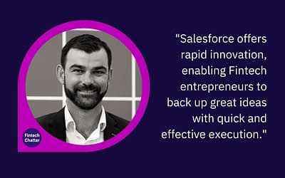Salesforce on Fintech Chatter Podcast